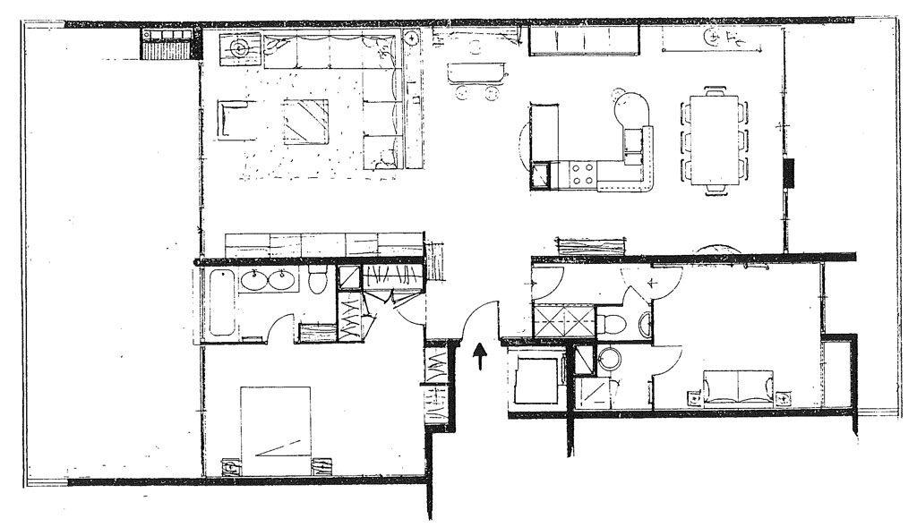 Plans d 39 architecte - Plan maison avec appartement ...